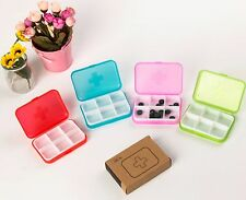 New Pill Box Case Medicine Container Dispenser Vitamin Organiser R6