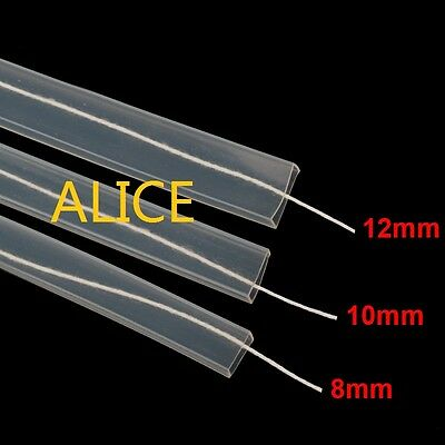 8mm/10mm/12mm Silicon tube IP67 for ws2801 ws2811 ws2812b waterproof led strip