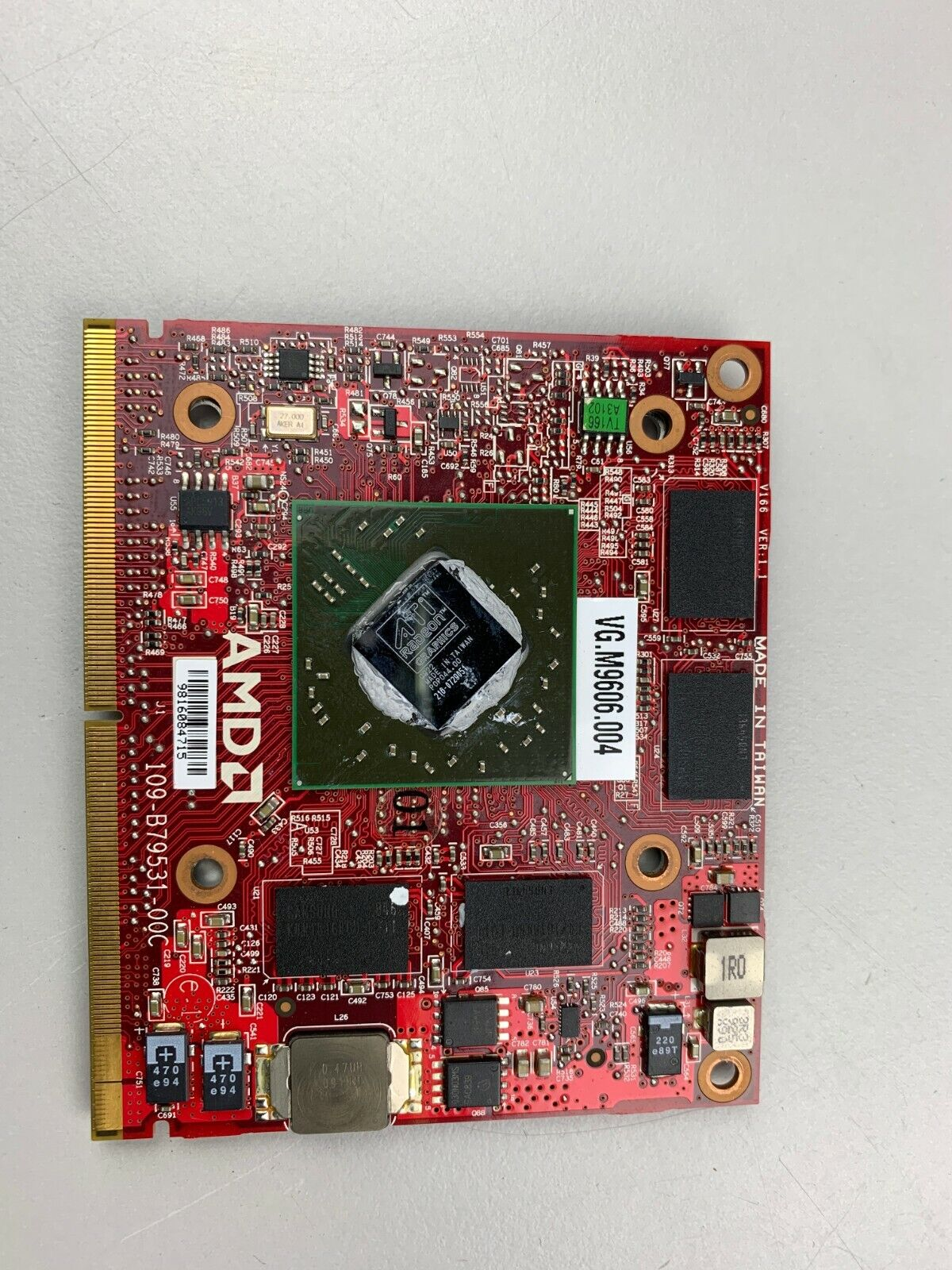 AMD ATI Mobility Radeon HD4670 DDR3 1GB Laptop Graphics Card VG.M9606.004 FAULTY