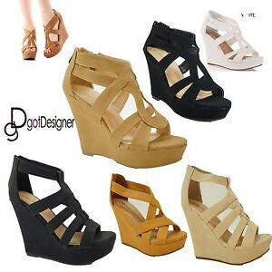 NEW-Womens-Platform-Pump-Strappy-Wedge-Gladiator-Sandals-Open-Toe-High-Heel-Shoe