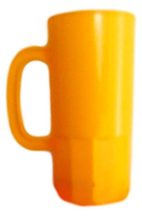 100 Large Yellow 22 Oz Beer Mugs Steins Made USA Lead Free Wholesale Lot
