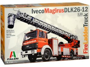 Italeri-1-24-bomberos-escalera-Camion-Iveco-Magirus-DLK-3784