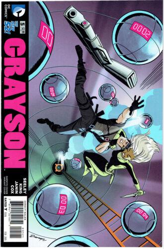 GRAYSON #5 DARWYN COOKE  COVER