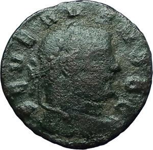 SEVERUS-II-305AD-Rare-Quarter-Follis-Authentic-Ancient-Roman-Coin-GENIUS-i66340