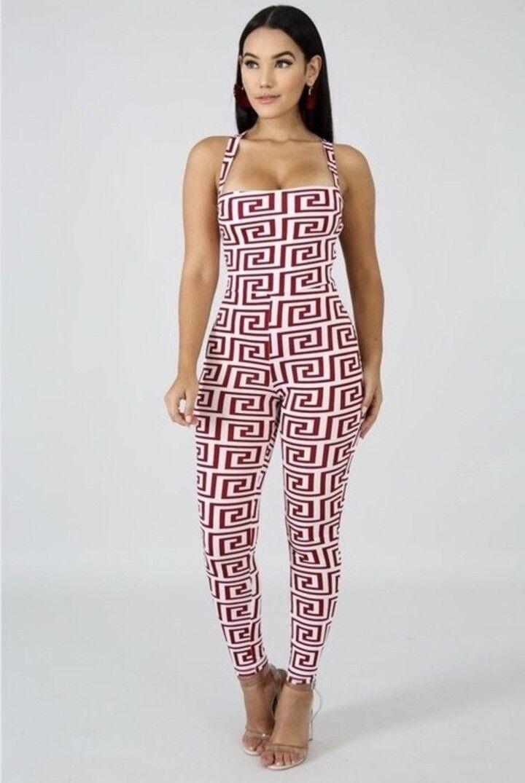 In A Daze Jumpsuit Paris Hilton Sexy Multicolor NWT Top Seller 100%