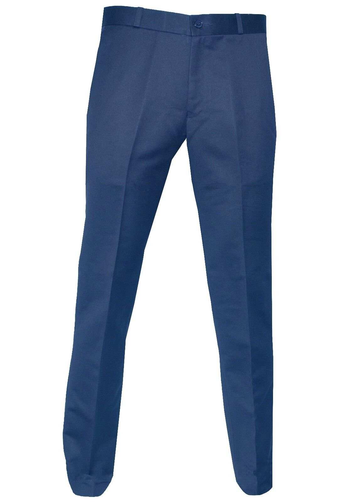Uomo Relco Blu Tonico Sta Stampa Pantaloni Due Tonalità Skinhead Mods Tg 32 a 42
