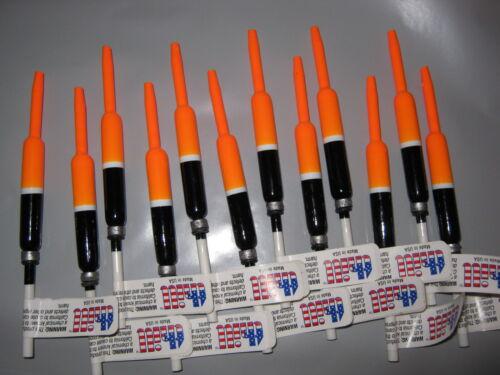 """Dealer Box 36 THILL Balsa pondérée 3//8/"""" crayon Slip Flotteurs made in USA Stick"""