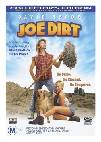 1 of 1 - Joe Dirt - COLLECTOR'S EDITION - DVD LIKE NEW FREE POST AUS REGION 4 -
