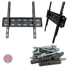 """New 32"""" 38 40 46 50 52 55"""" inch Flat Wall Mount Bracket for LCD 3D Screen TV"""