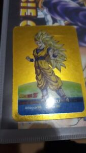 dragon-ball-lamincards-edibas-italia-serie-oro-n-14