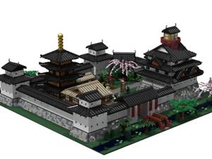 Lego Egen instruktion Antu City med inre