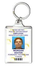 DEXTER MORGAN ID CARD KEYRING LLAVERO