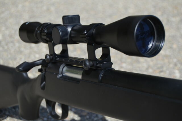 Well Black VSR-10 Sniper Bolt Action Airsoft Rifle 9X Magnification Scope 500FPS
