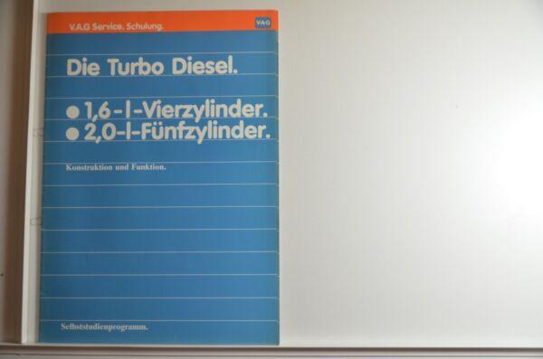 100% Waar Vw Ssp Selbststudienprogramm 1,6l Und 2,0l Turbo Diesel Motor Prospekt 1981 Ziekten Voorkomen En Genezen