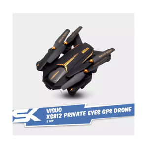 SALE! Visuo XS812 Private Eyes 5MP 1080P Foldable GPS Drone