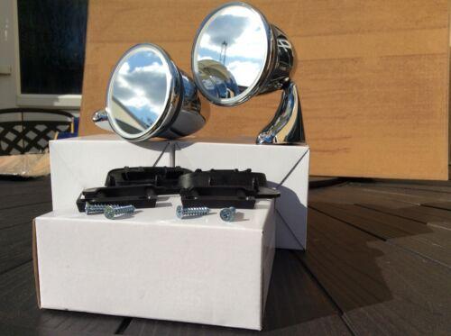 Classic Mini TEX style torpille Balle Porte Rétroviseurs droit et gauche