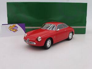 "Cult CML 038-1 # Alfa Romeo Giulietta Sprint Zagato Bj. 1961 in "" rot "" 1:18 NEU"
