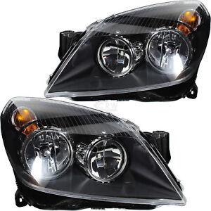 Headlight-Set-Opel-Astra-H-Built-03-04-02-07-Incl-Motor-H7-H1-T9j