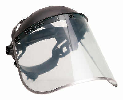 Safety Face Shield >> Details About Portwest Pw96 Ppe Protective Work Browguard And Safety Face Shield Plus Ansi