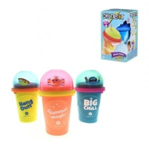 Chill Factor Squeeze Cup Slushy Maker Colour Splash Assorted