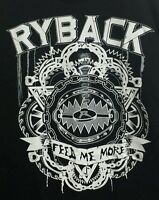 Wwe Ryback Feed Me More Shirt L With Tags (size Strip/sticker)