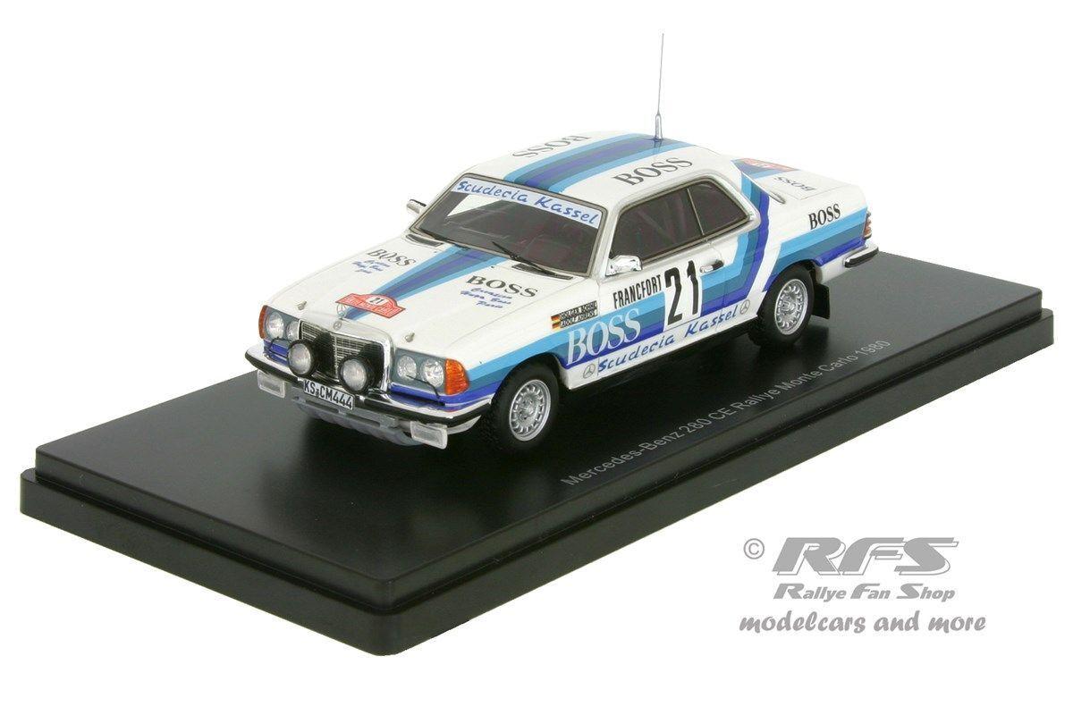 MERCEDES-BENZ 280 CE-BOSS-Rally Monte Carlo 1980-Fagiolo - 1:43 NEO