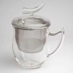 Teetasse Mit Sieb glas teetasse teeglas mit sieb und deckel epsilon ohne glas