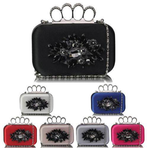Donna New Fashion Designer Ballo Sera Festa Da Donna Knuckle CLUTCH Bags