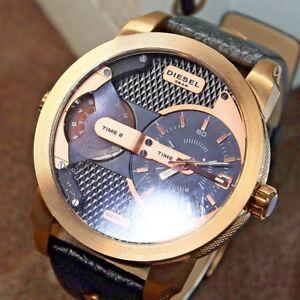 7805af25b703 La foto se está cargando Nuevo-Reloj-Diesel-DZ7317-papa-Chrono-correa-de-