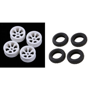 Upgraded Rims Tires for WLtoys K969 K989 Rally Buggy Crawler Racing Cars