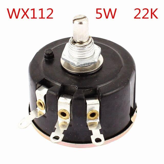 WX112(050)22K ohm 5W Single-circle wire wound potentiometer 1PCS