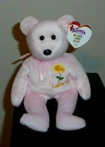 Ty Beanie Baby - CALIFORNIA POPPY the Bear (Knott's Berry Farms Exclusive) MWMT
