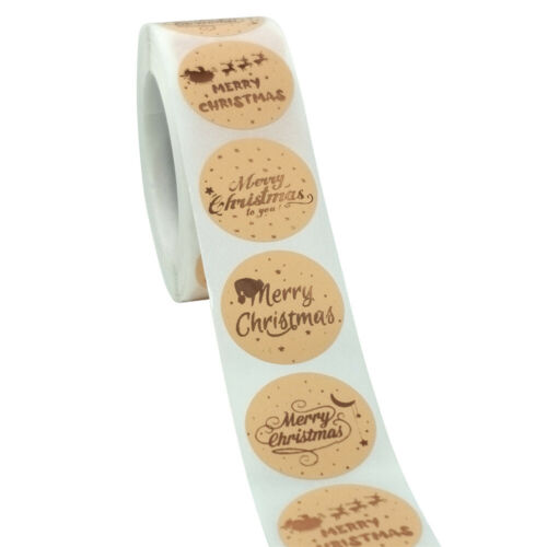 Decor Baking Sign Sticky Note Seal Sticker Adhesive Label Christmas Stickers