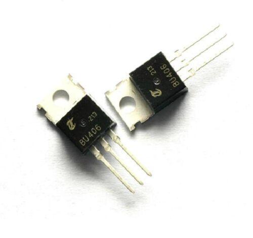10pcs High Voltage Switching Transistor BU406 TO-200