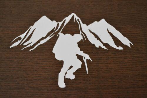 Sanctuaires edge 25CM alpiniste montagne sticker autocollant escalade alpinisme