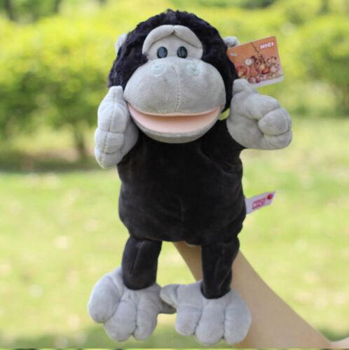 Plush toy stuffed doll fat orangutan gorilla black monkey King Kong present 1pc