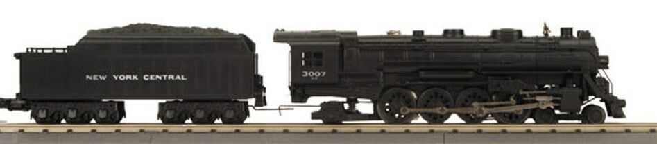 MTH järnvägKing 30 -1657 -1e New York Central 4 -8 -2 L3 Mohawk Steam Motor PrödotSound