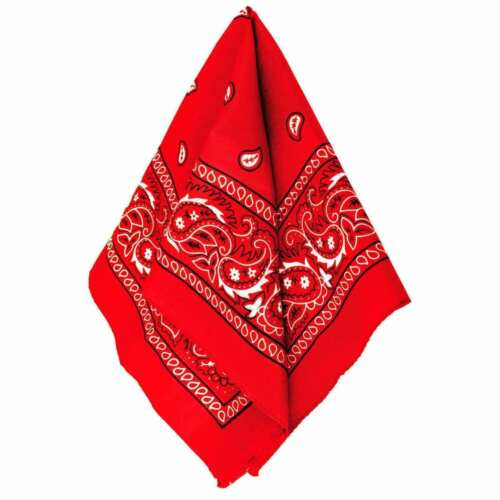 100/% COTTON PAISLEY BANDANA HEADBAND HEAD WEAR TIE WRAP BAND SCARF NECK WRIST