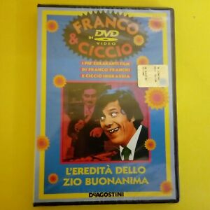 DVD-Franco-amp-Ciccio-DeAgostini-L-039-Eredita-dello-Zio-Buonanima-NUOVO