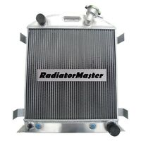 Aluminum Radiator For 1932 Ford Chopped Chevy Engine 3row