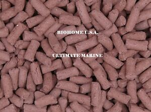 2 LBS BIOHOME ULTIMATE MARINE FILTER MEDIA ~MEDIUM RED~ $13.99 A POUND US SELLER