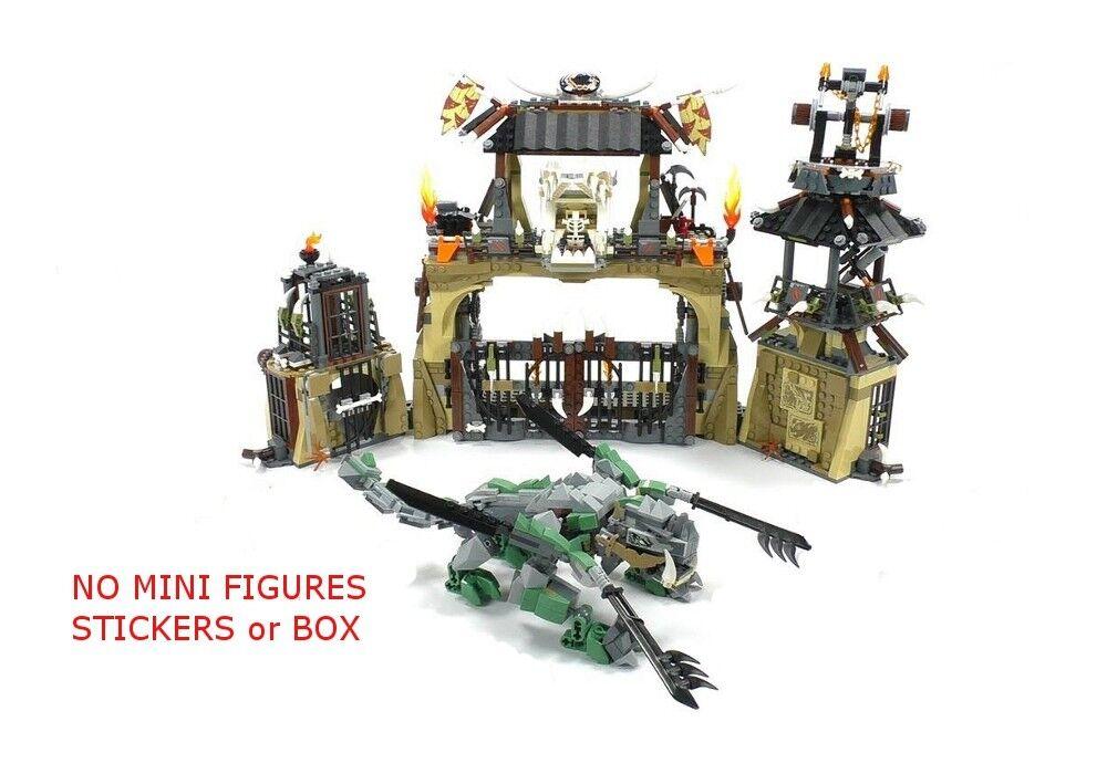 LEGO 70655 - Ninjago - Dragon Pit - NO MINI FIGURES / BOX - PLEASE READ