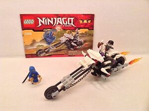 Lego Ninjago 2259 Skull Motorbike Complete W Manual, No Box