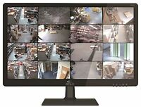 Oyn-x Cctv Security Monitor 21 Tft Led Hdmi Bnc Vga Inputs & 16:9 Screen 1080p