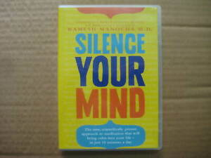 SILENCE-YOUR-MIND-Ramesh-Manocha-M-D-RARE-AUSSIE-DVD-CD-Meditation