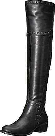 Vince Bestan Women Over The Knee Boots (6.5 M Wc, Black)