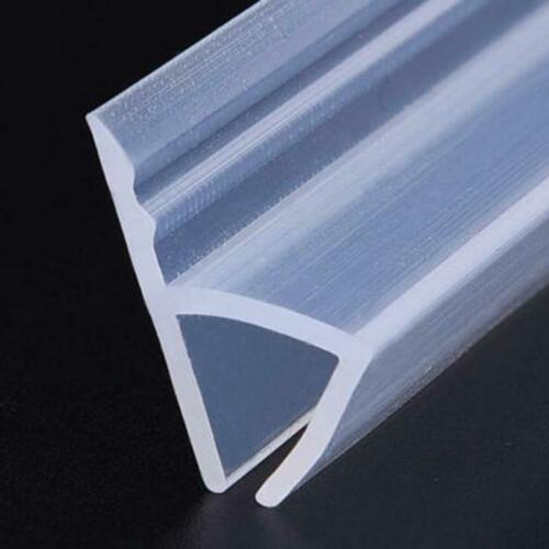 1//2 Meters H Shape Silicone Rubber Shower Door Glass Seal Strip Weatherstrip