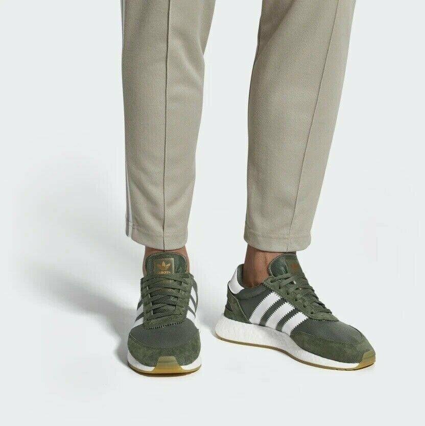 Men's adidas I-5923 shoes - Green - CQ2492