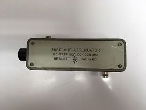 HP-355C-VHF-Attenuator-0-5W-50-DC-1000-MHz-0-12dB-1dB-Steps-TESTED