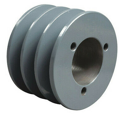 """TB WOOD/'S 3V4752 1//2/"""" to 1-5//8/"""" Quick Detachable Bushed Bore 2 Groove 4.75/"""" OD"""